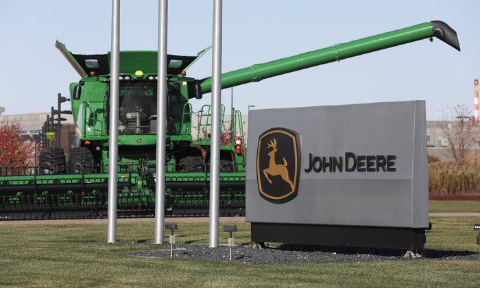 Auch John Deere investiert kräftig in künstliche Intelligenz.