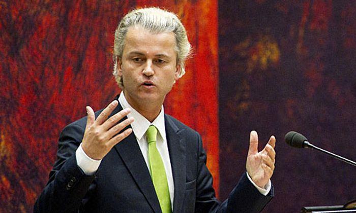 Geert Wilders unterstützt die neue Minderheitsregierung