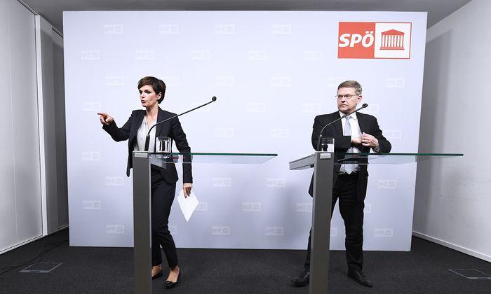 SPÖ-Chefin Pamela Rendi-Wagner will keinen Maulkorb nach internen Sitzungen verhängen, Bundesgeschäftsführer Christian Deutsch ärgerte sich über Indiskretionen.