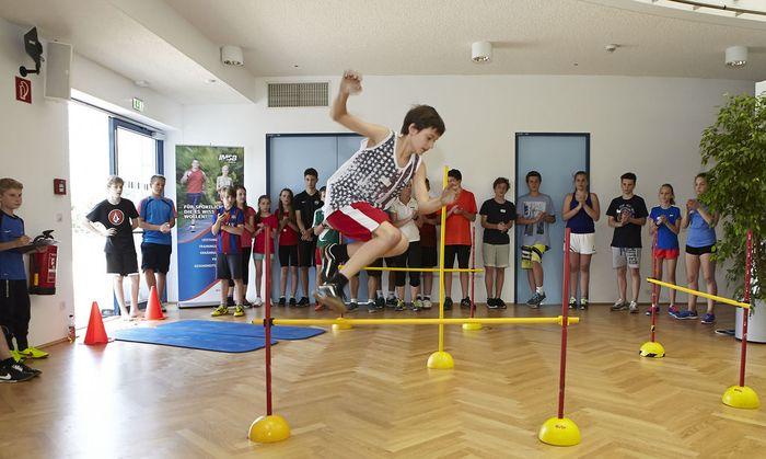 Schüler beim Sport