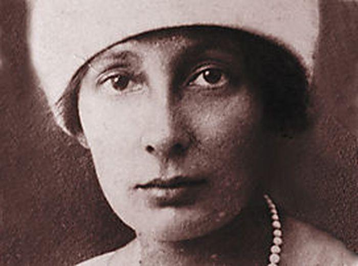 Schütte-Lihotzky in jungen Jahren.