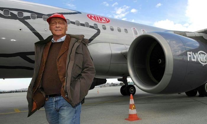 Die Luftfahrt war Laudas große Liebe nach der Formel 1 und zugleich sein größtes Geschäftsfeld.