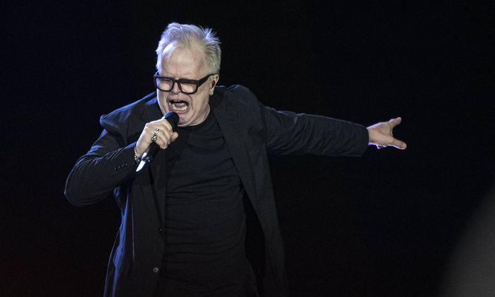 Archivbild: Grönemeyer bei seinem Konzert in der Commerzbank-Arena in Frankfurt am Dienstag