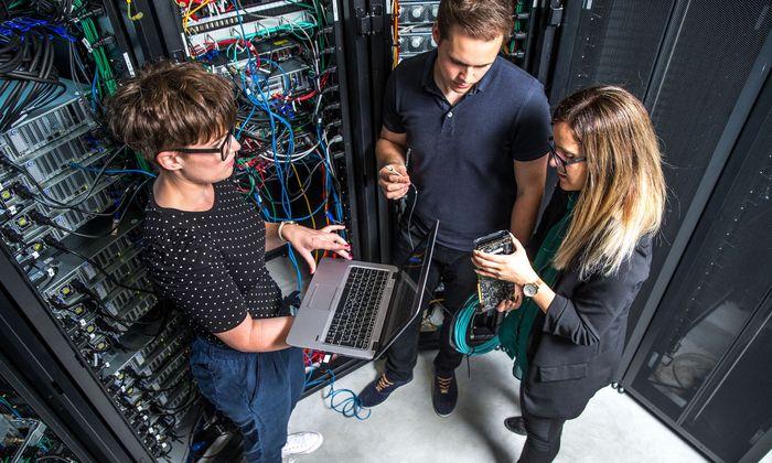 Der neue Lehrberuf Informationstechnologie kümmert sich vor allem um die IT-Infrastruktur.