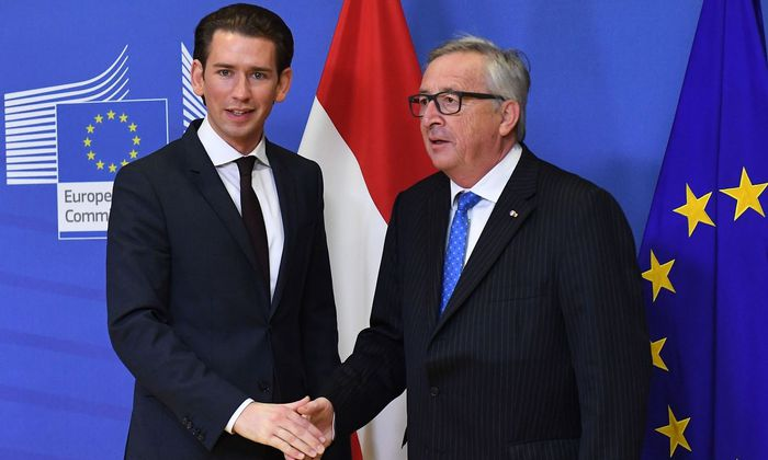 BELGIUM-EU-AUSTRIA-POLITICS-DIPLOMACY