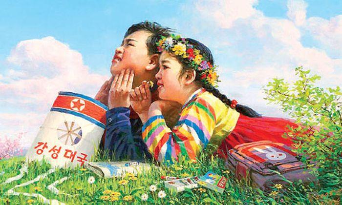 Ausstellung Propagandakunst Nordkorea