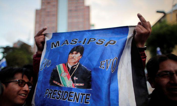 Die Kandidatur des seit 2006 regierenden Morales für eine vierte Amtszeit ist umstritten