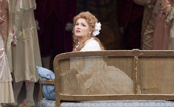 Sie hat den langen Atem und die Klangfülle: Anna Netrebko als Maddalena.