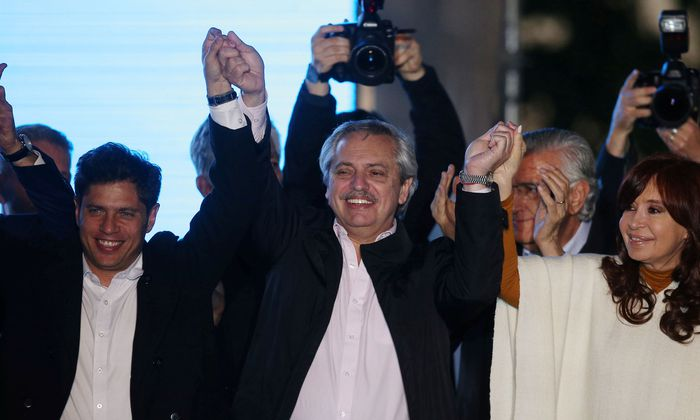 Alberto Fernandez steuert einem Wahlsieg zu