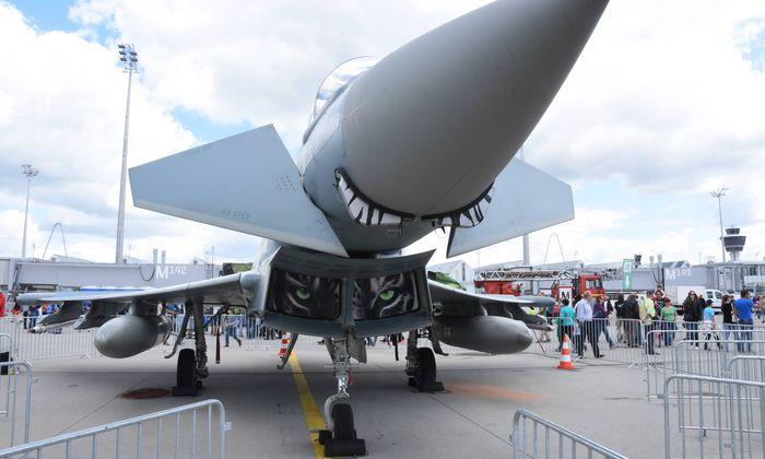 Symbolbild Eurofighter.