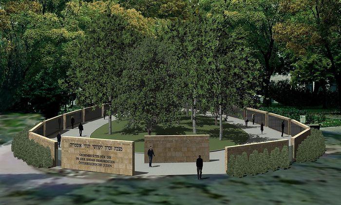 Eine Visualisierung des geplanten Denkmals