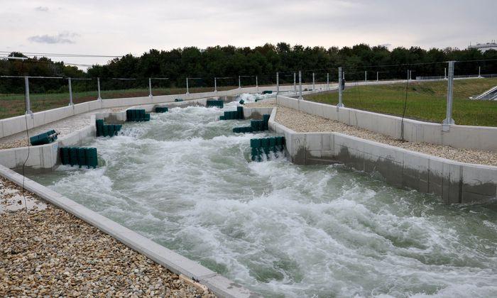 Archivbild: Der Wildwasserkanal auf der Wiener Donauinsel