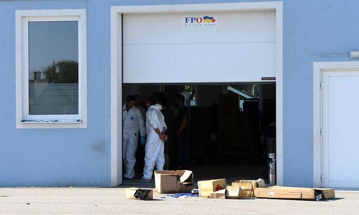 NIEDERÖSTERREICH: BRAND IN FPÖ-LANDESGESCHÄFTSSTELLE IN ST. PÖLTEN