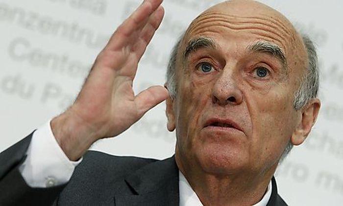Schweizer Finanzminister Hans-Rudolf Merz
