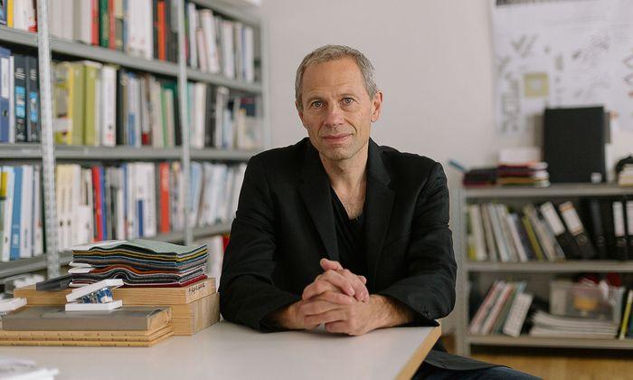 Stararchitekt Dietmar Feichtinger.