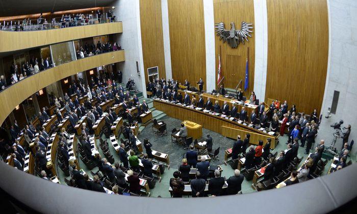 ERSTER NATIONALRAT DER NEUEN BUNDESREGIERUNG: UeBERSICHT