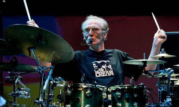 Ginger Baker galt als einer der besten Schlagzeuger der Welt
