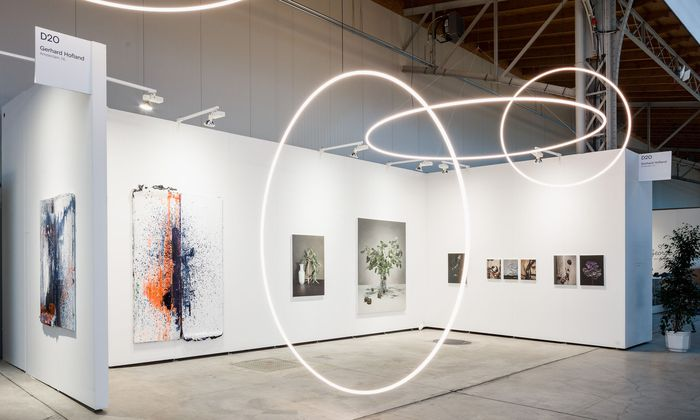 Die Marx Halle bietet den Rahmen für die Viennacontemporary, an der heuer 110 Galerien teilnehmen.