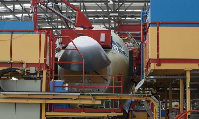 Airbus Produktion in Hamburg 19 09 2017 Airbus Hamburg Produktion Airbus im Bild Produktionshall