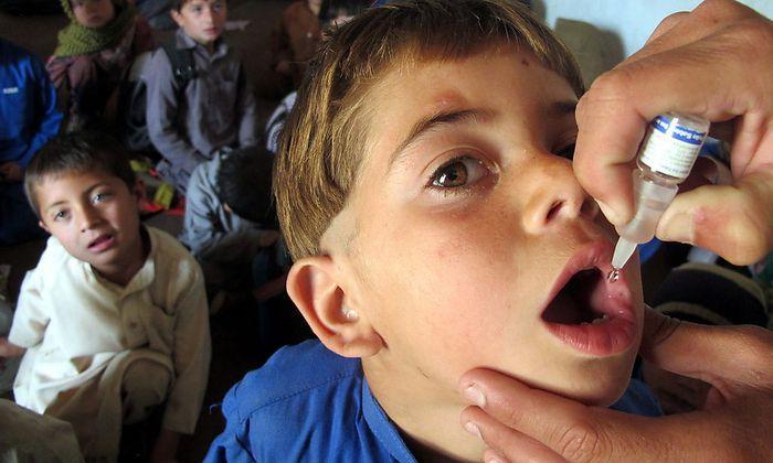 Polio wird nach Angaben der WHO erneut Risiko