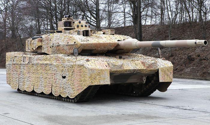Leopard II A7+