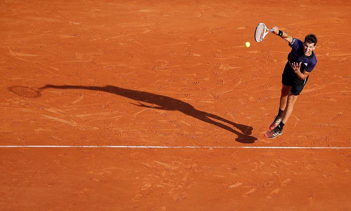 Dominic Thiem, in Monte Carlo im Achtelfinale ausgeschieden, schlägt kommende Woche beim ATP-500-Turnier in Barcelona auf.