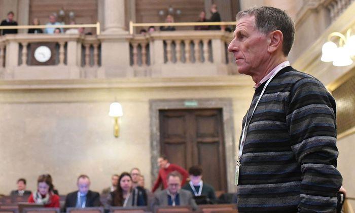 Peter Hochegger im Straflandesgericht Wien