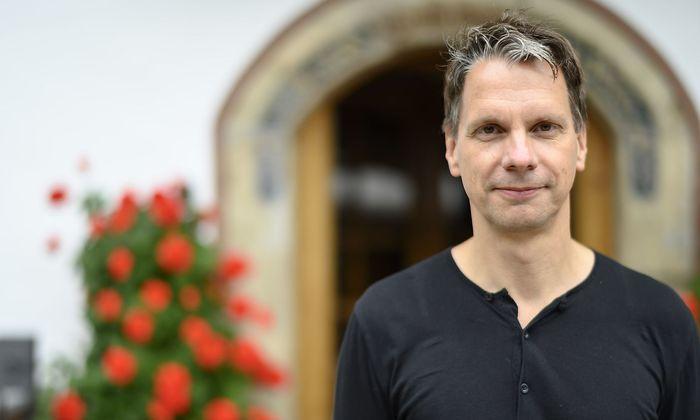 Martin Knobbe beim European Forum in Alpbach
