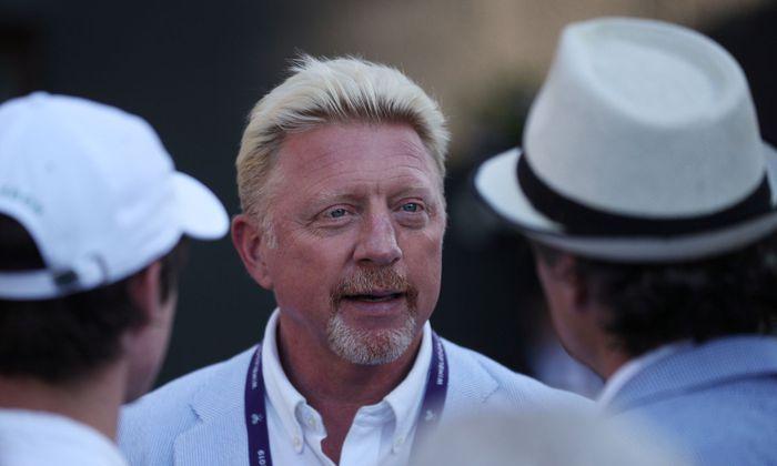 Boris Becker in Wimbledon