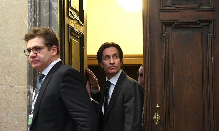 Der frühere Finanzminister und Hauptangeklagte im Buwog-Prozess, Karl-Heinz Grasser.