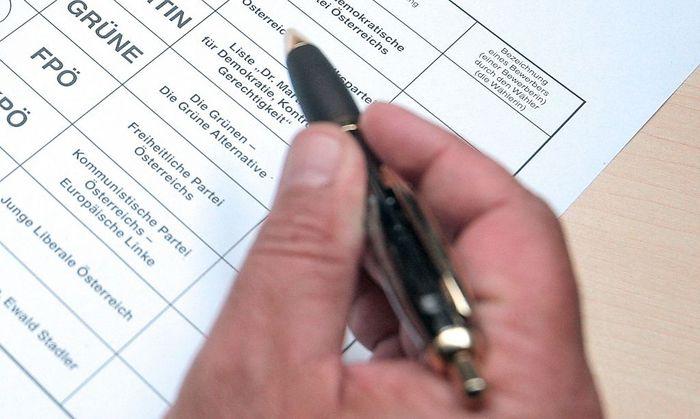 EU-Wahl: Unterschriften-Sammeln beginnt