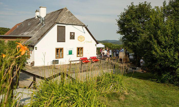 Meierei Mirli im Wienerwald.