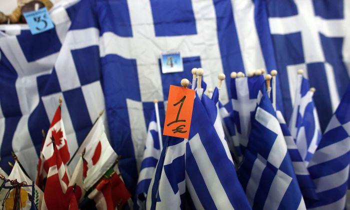 Local Economy At Farmers Market As Troika Plan Return To Greece