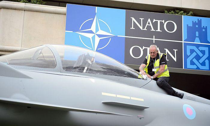 Archivbild vom letzten Nato-Gipfel in Wales.