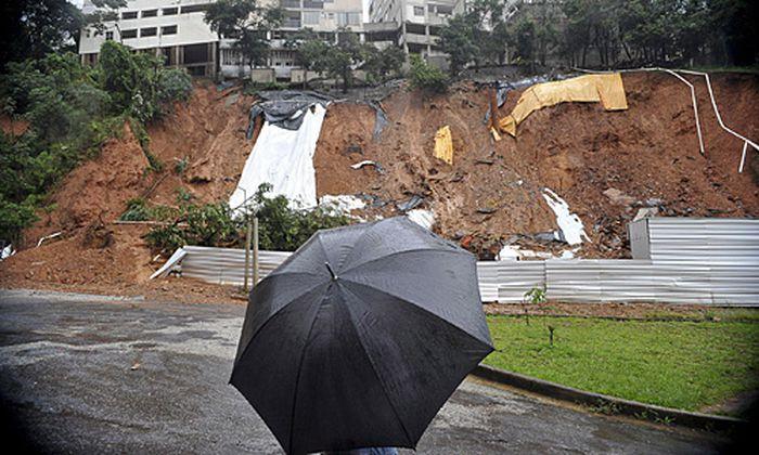 Erdrutsche nach heftigen Regenfällen in Brasilien
