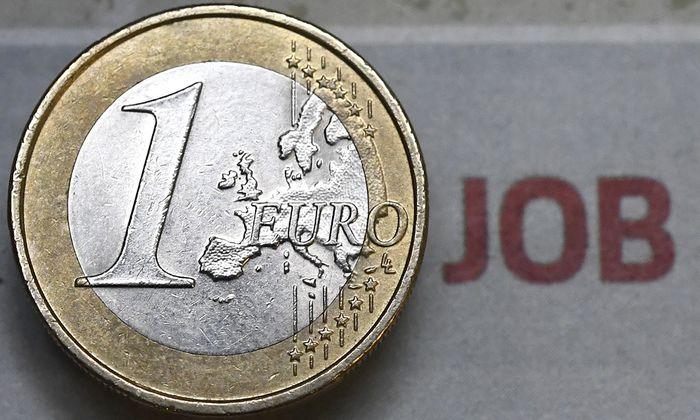 THEMENBILD: EIN EURO JOB