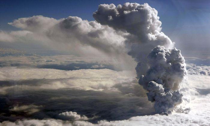 Der Ausbruch des Eyjafjallajökull 2010 in Island war ein vergleichsweise kleiner. Trotzdem legte er den Flugverkehr über Europa tagelang lahm.