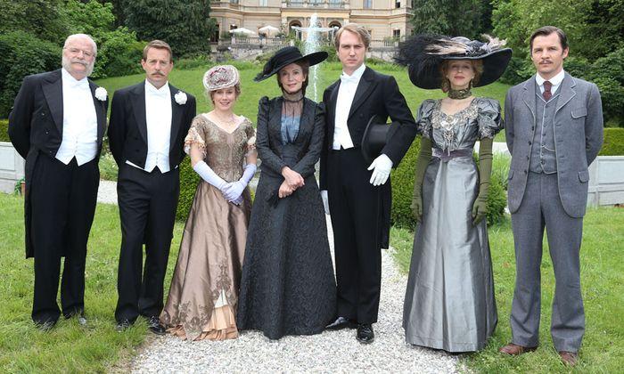 Villa Wahnfried ueber Traunsee