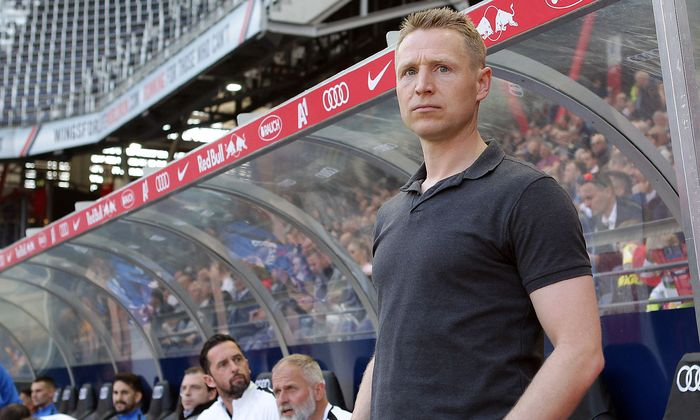 Austria-Trainer Robert Ibertsberger hofft auf Punkte gegen den LASK.