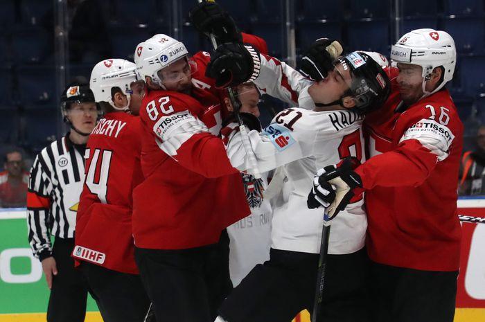 ICE HOCKEY - IIHF WC 2019, SUI vs AUT