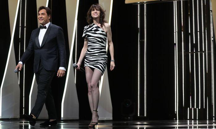 Javier Bardem und Charlotte Gainsbourg bei der Eröffnung