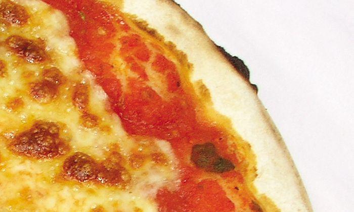 eine Pizza Margherita Euro