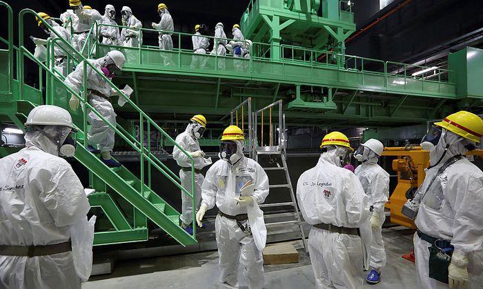 Der Abriss des Akw in Fukushima ist noch nicht einmal richtig angelaufen.