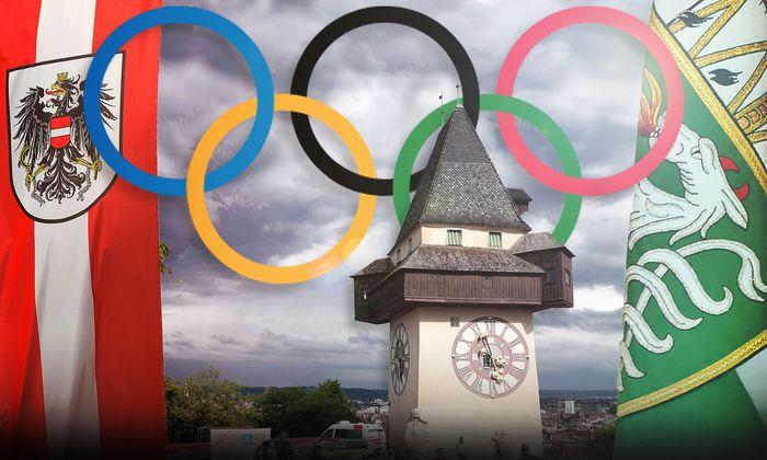 Eine echte Euphorie für Olympische Spiele in Graz und Schladming ist noch nicht aufgekeimt.