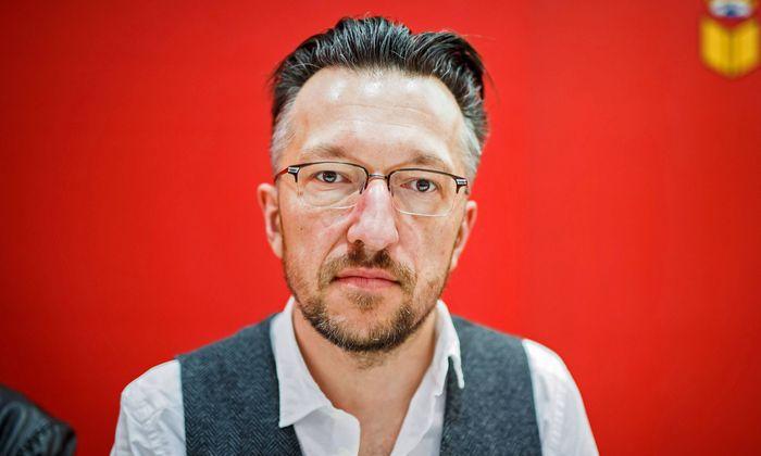 Lukas Bärfuss (47), Essayist, Dramatiker. [