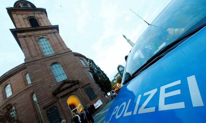 ATTAC-Protest in Frankfurt