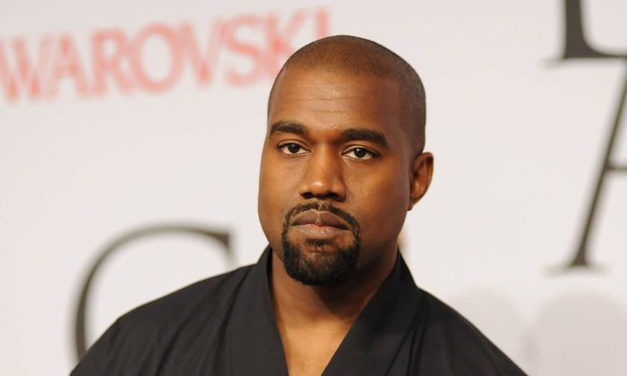 June 1 2015 New York NY USA June 1 2015 New York City Kanye West attending the 2015 CFDA Fa