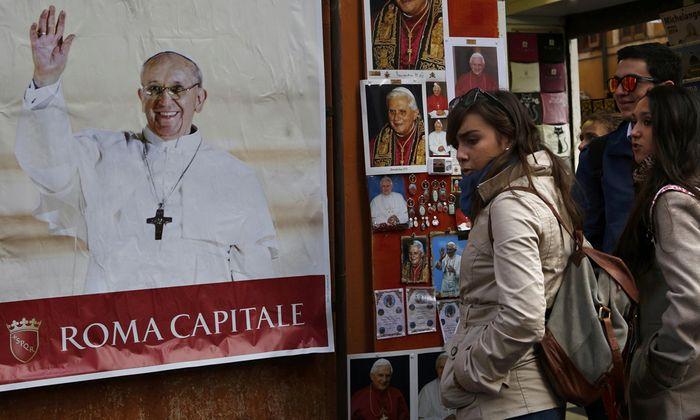argentinischen Spuren Papstes