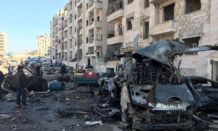 In Idlib wird die Situation für Zivilisten immer gefährlicher.