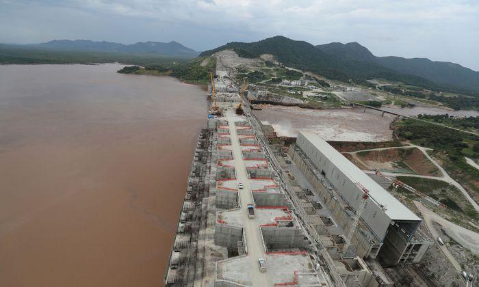 Äthiopien will den Nil aufstauen, um Strom zu gewinnen.